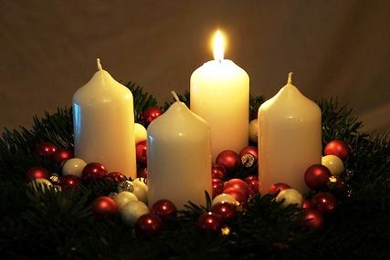 December | 2013 | Canonbie United Parish Church One Advent Candle