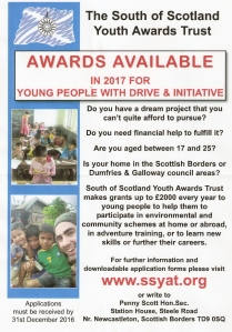 south west scotland youth awards trust