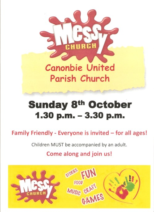 Messy Church 8th October